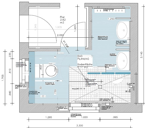 Behindertengerechtes Bad Planen badsanierung architektin bettina gödecke